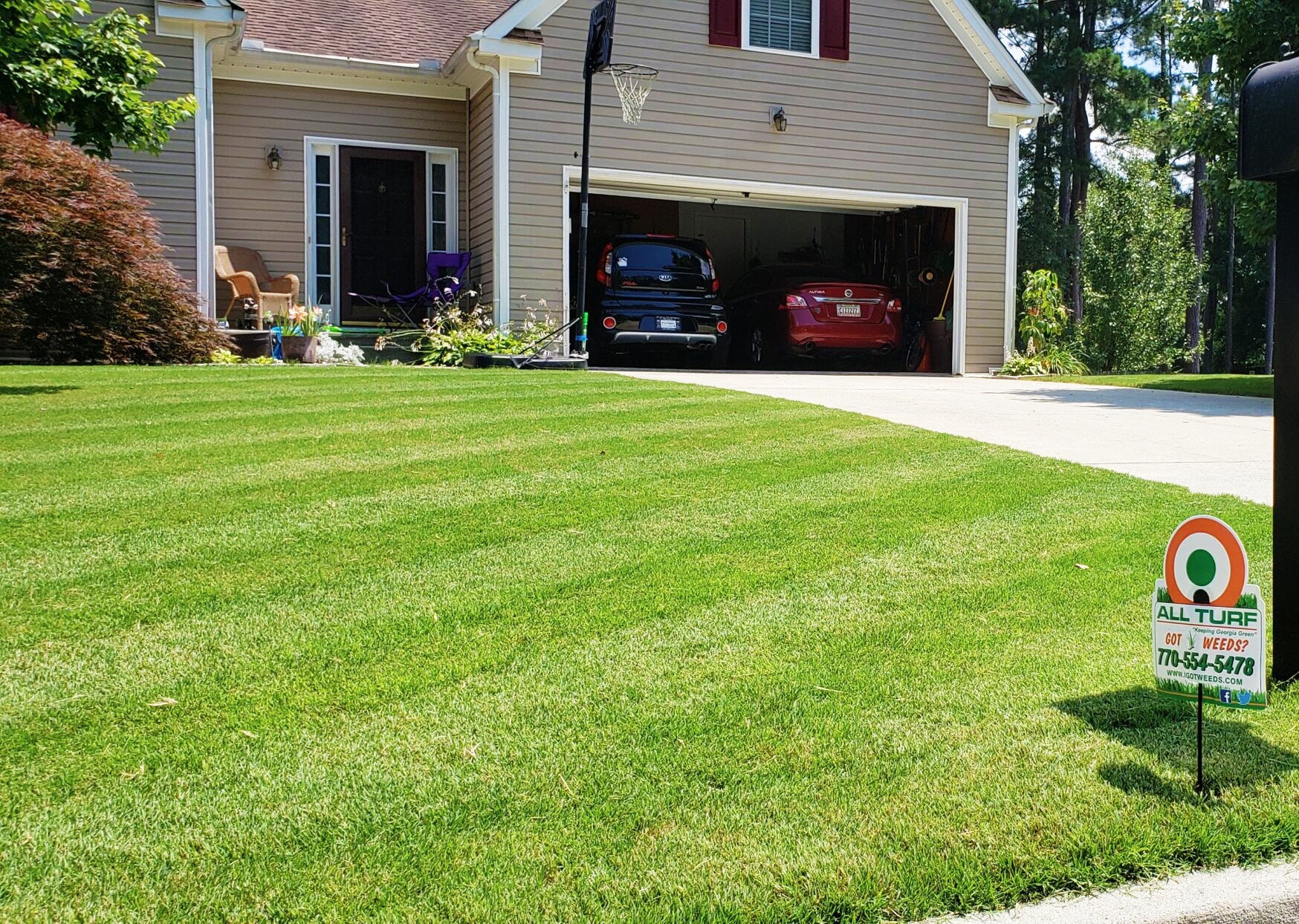 east side atlanta lawn care, all turf lawn care, east side atlanta weed control
